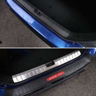 Honda Civic Rear Scuff Plate & ABS Bumper Protection