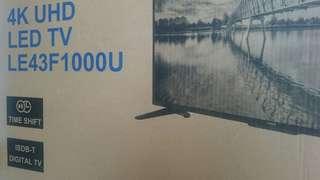 Haier 4K UHD LED TV LE43F1000U  Haier 4K UHD LED TV LE43F1000U