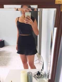 Kitschen Black Skirt