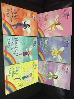 Rainbow magic 6 本