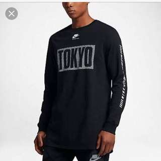 Authentic Nike International Tokyo Long Sleeve Tee Size M