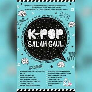 Ebook K-Pop Salah Gaul