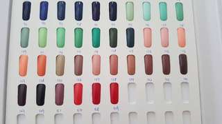 BN Nail Gel Polish Color
