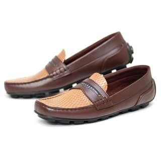 Sepatu pria slip-on loafers - Silvio by frandeli