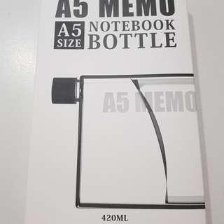 •New• A5 Memo Notebook Bottle