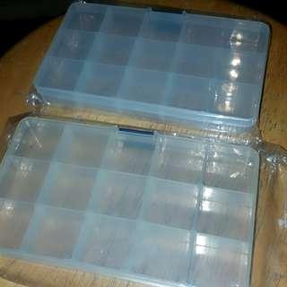 15格 手作盒 藥盒 飾物盒 $30 2個 $20一個
