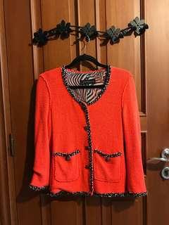 Zara Tweed Cardigan Jacket