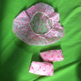 Take it all Pink Shower Cap
