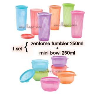 Tupperware Teacher's Day Gift <Tumbler + mini bowl>