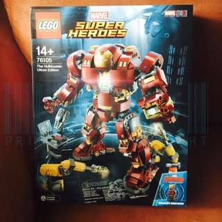 現貨 LEGO 76105 The Hulkbuster: Ultron Edition