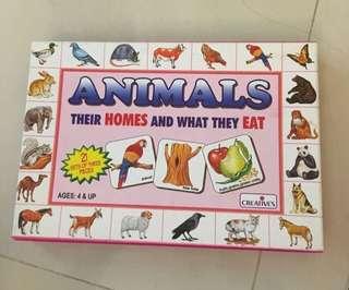 Animals Flashcards set (flash cards)