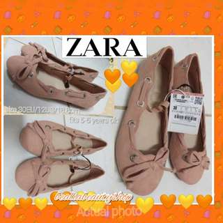 ZARA KIDS BALLERINA SHOES SIZE 30EU-fits to 6yo