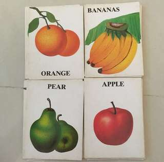 Fruits Flashcards (flash cards)