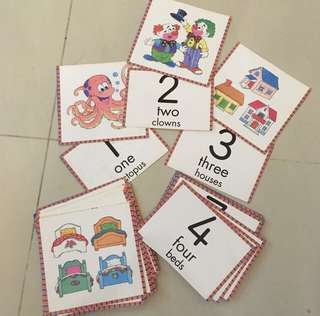 Numbers Flashcards (flash cards)
