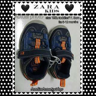 ZARA BABY boys toddler (3UST/19Eu/12 cm/ fitted to 9-12 months)