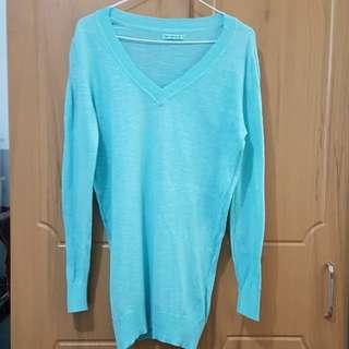 Terranova aqua blue long sleeved sweater