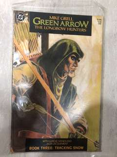 Green Arrow collectible comics