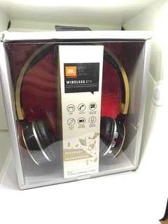JBL wireless B74 Bluetooth on-ear headphones music