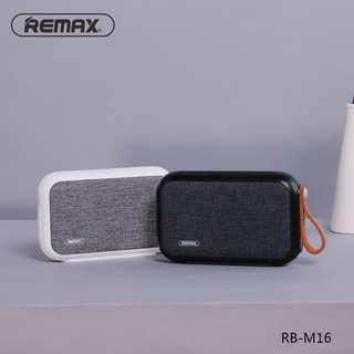[BNIB SEALED] REMAX RB-M16 (Black / White) Bluetooth Fabric Speaker