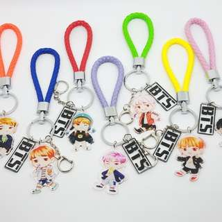 BTS 4TH MUSTER THEME STRAP ACRYLIC KEYCHAIN
