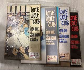 Lone Wolf and Cub 4 book Limited Edition