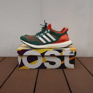 Ultra Boost Miami Hurricanes