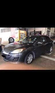 Cheap cars for rent Mazda 3 Toyota