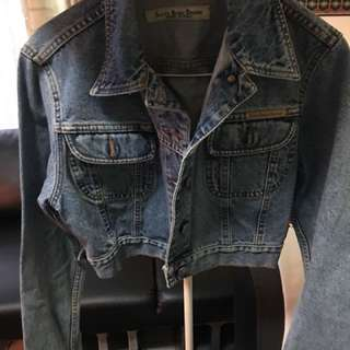 🚚 Sisley短版牛仔外套