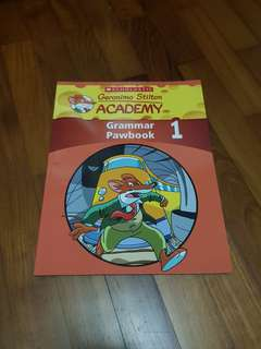 Geronimo Stilton Grammar Pawbook 1