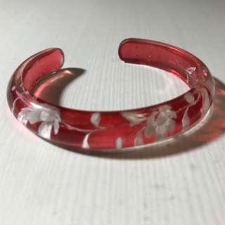 🚚 手工立體雕花手環