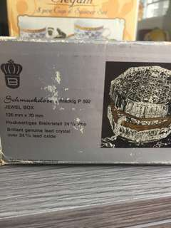 Crystal jewel box