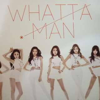 I.O.I Whatta Man single album