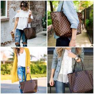 L v nevefull MM Tote 🌻  RESELLERS ARE WELCOME ❤️❤️ ✔️offers lowest price 📌paperbag 📌dustbag 📌carecard  ‼️high grade quality‼️