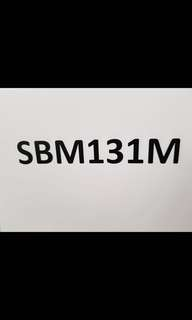 Number plate for sale SBM131M