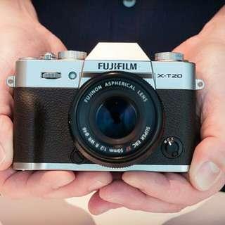 Fujifilem X-T20 Lengkap Promo Credit Cepat 3menit