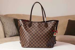 LV Neverfull MM TOTE