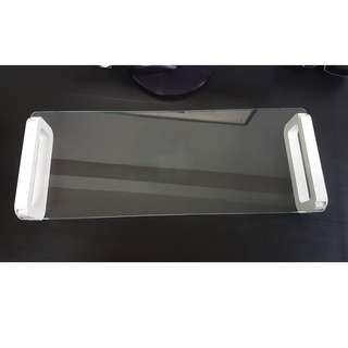 Tempered Glass Monitor Stand
