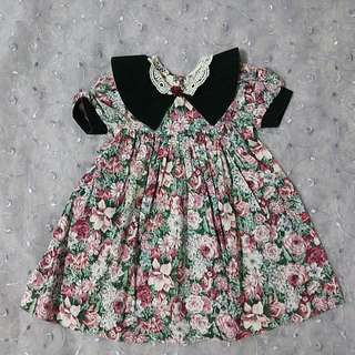 Cutest One Floral Dress 4T