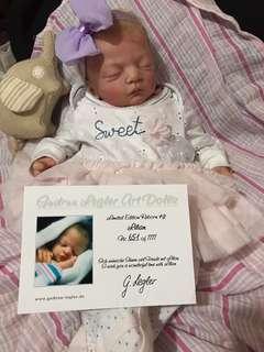 Reborn baby doll lifelike Lilian