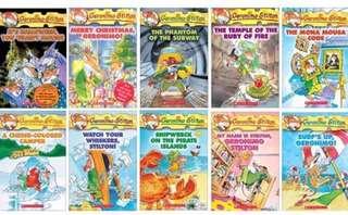 10 books Geronimo Stilton (bundle 2)