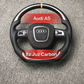Audi A5 Carbon steering