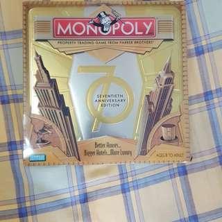Monopoly Seventieth Edition