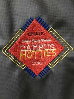 Chalk Magazine Campus Hottie Bomber Jacket