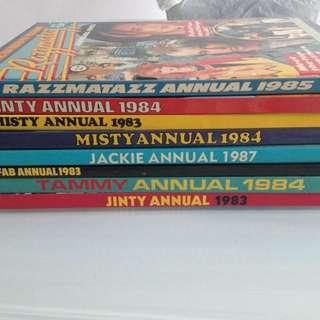 Vintage British publications