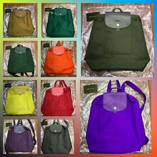 SALE SALE SALE  LONGCHAMP BACKPACK AUTHENTIC