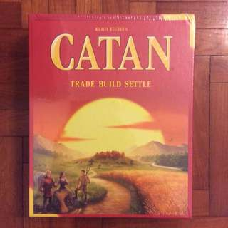Catan 5th Edition board game (NOT FAKE, dented)
