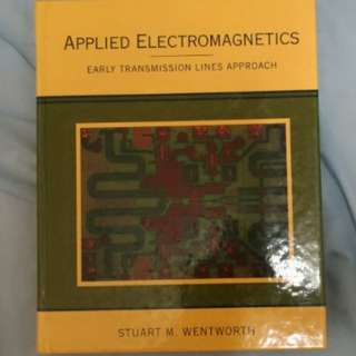 Applied electromagnetics Early transmission lines approach