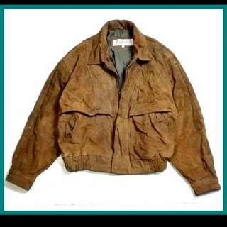 🚚 皮夾克 全真皮 重傷皮衣