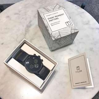 🚚 🖤Tylor 全新公司貨三眼手錶⌚️