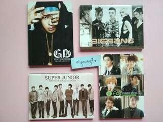 G-Dragon / BigBang / Super Junior / Exo-K Unofficial Mini Photobook